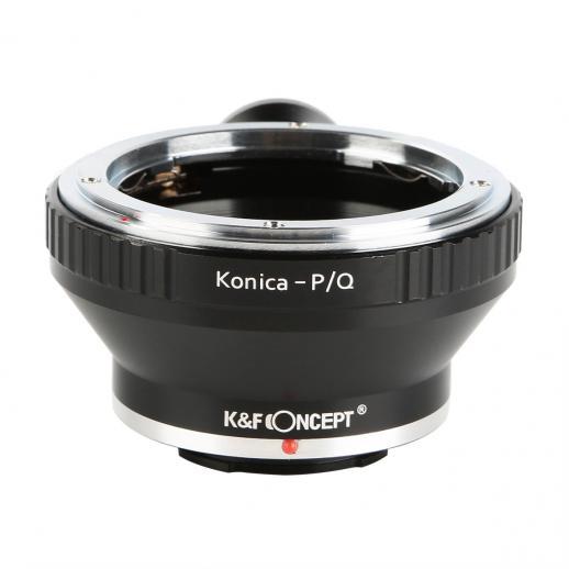 Adaptador Lentes Konica AR para corpo Pentax Q com Tripé Monte