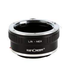 Leica R Lenses to Sony E Mount Camera Adapter with tripod mount