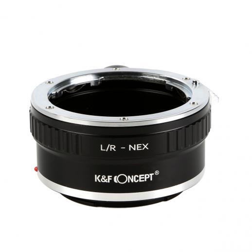 Adaptador Lentes Leica R para corpo Sony NEX E com Tripé Monte