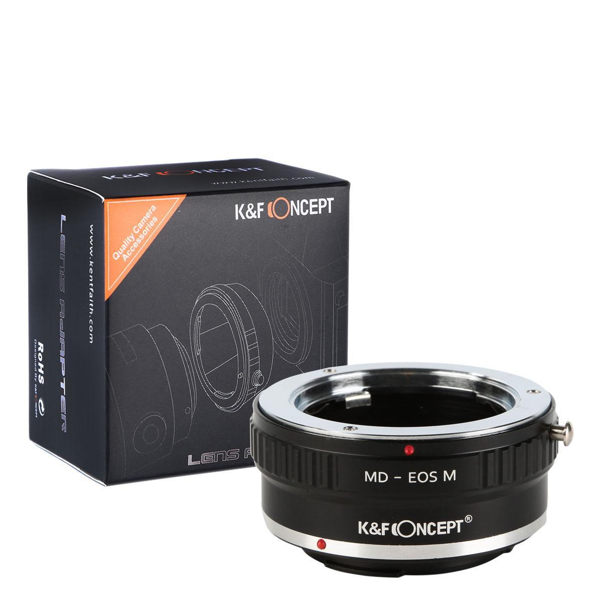Adaptador Lentes Minolta MD MC para corpo Canon EOS M