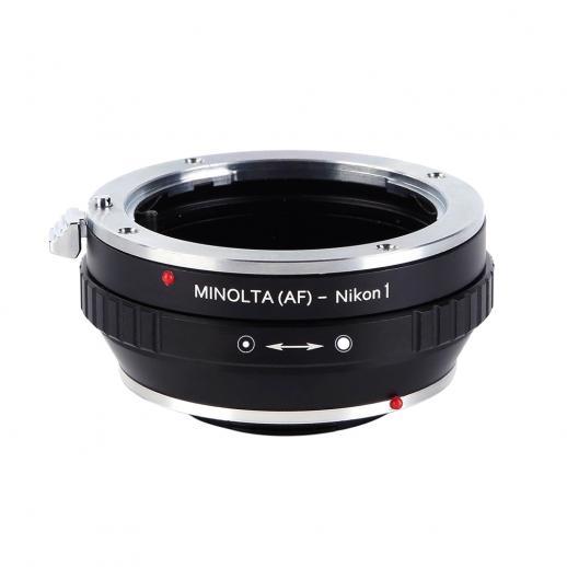 Minolta A / Sony A Lentes para Nikon 1 Adaptador de Montagem de Câmera com Tripé