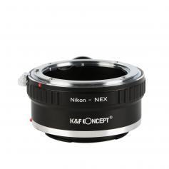 Adattatore per Obiettivi Nikon F a Fotocamere Sony E Mount