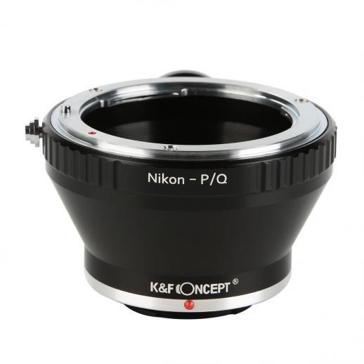 Adapter Obiektyw Nikon F do Korpusów Pentax Q