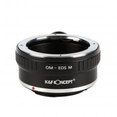 Olympus OM Lenses to Canon EOS M Camera Mount Adapter with Tripod Mount