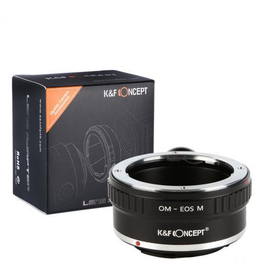 Adattatore per Obiettivi Olympus OM a Fotocamere Canon EOS M