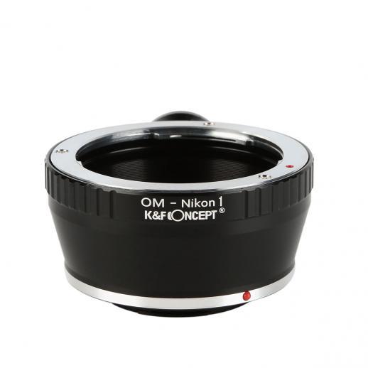 Olympus OM Lentes para Nikon 1 Câmera Adaptador com Tripé Monte
