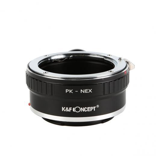 Pentax K Lentes para Sony NEX E Câmera Adaptador com Tripé Monte