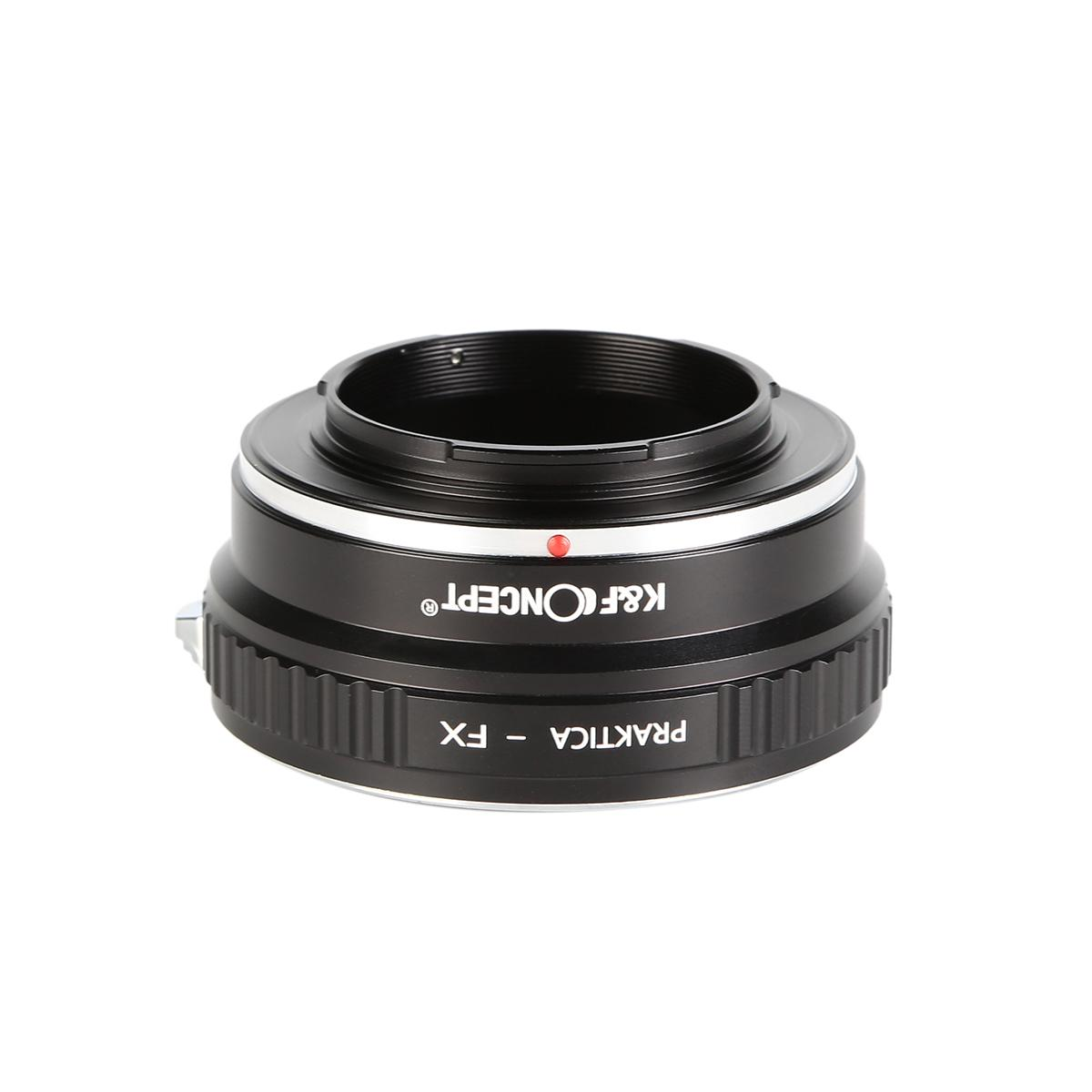 Adapter für Praktica B Objektiv auf Fuji X Mount Kamera
