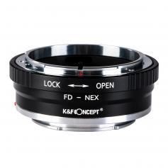Canon FD Objektiv på Sony E Mount Kamera Koppar Adapter