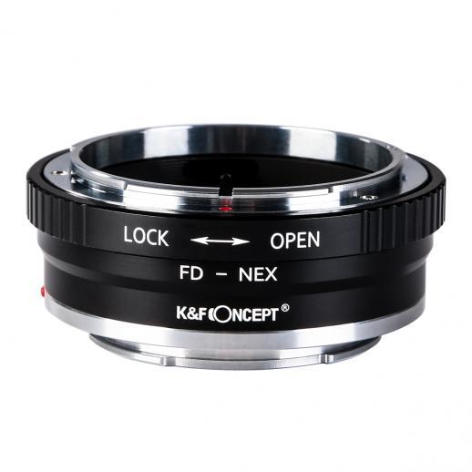 Canon FD Lentes para Sony E Mount Câmera Adaptador