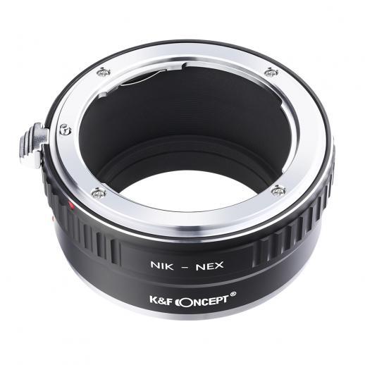Adaptador Lentes Nikon F para corpo Sony E
