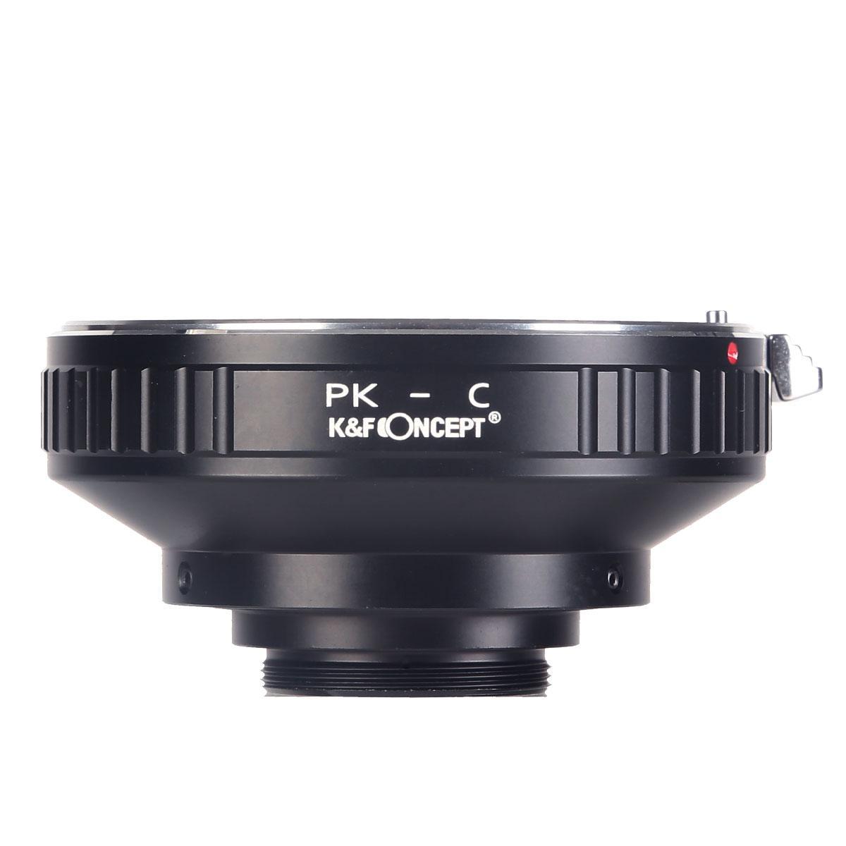 Pentax K Lenzen voor C Mount Camera Adapter