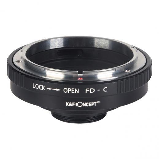 K&F M13231 Adaptador de lente Canon FD para lente C