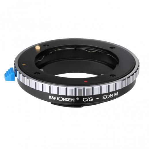 K&F M26141 Lentes Contax G para Canon EOS M Adaptador de Montagem de Lente