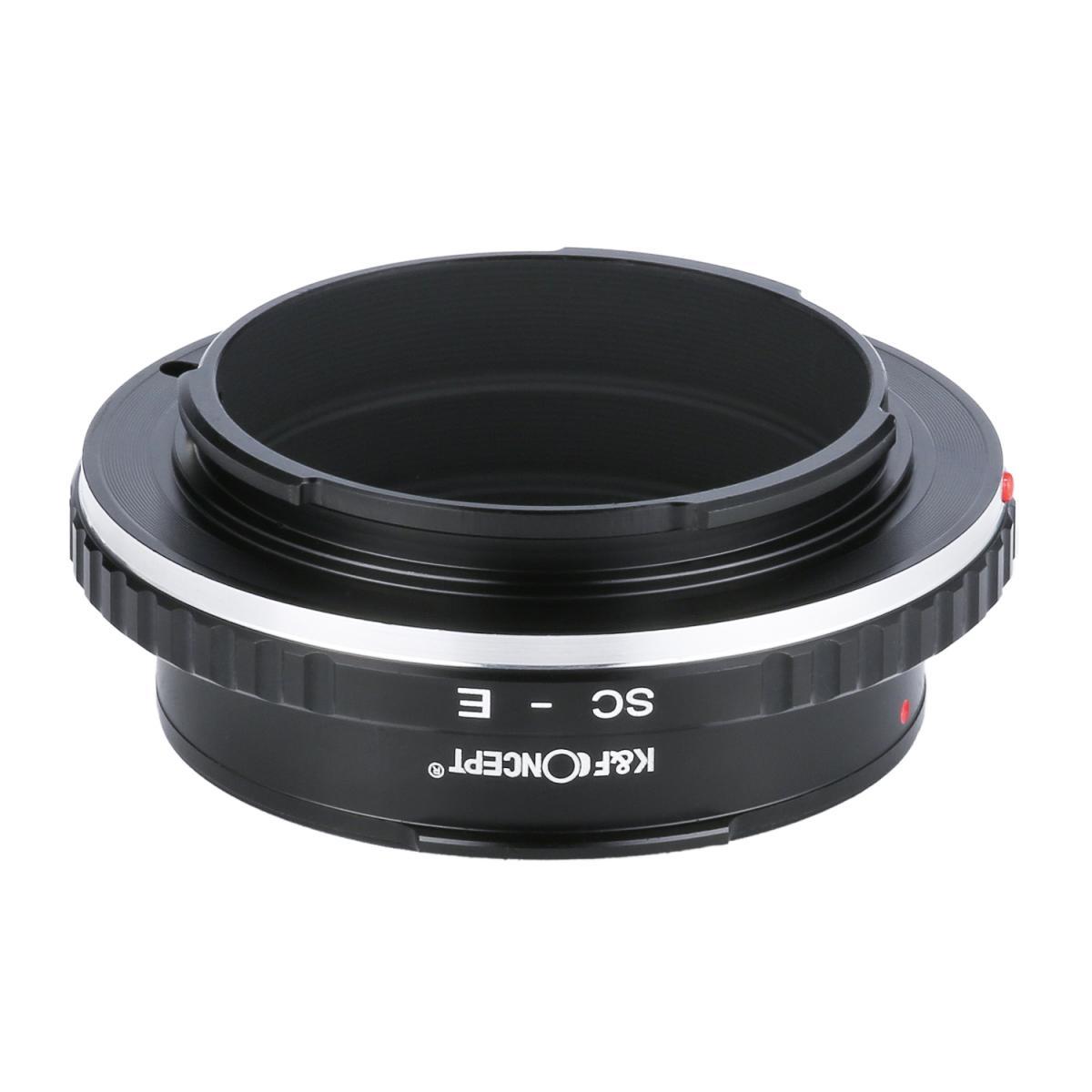 Adaptador Lentes Contax RF / Nikon S para corpo Sony E