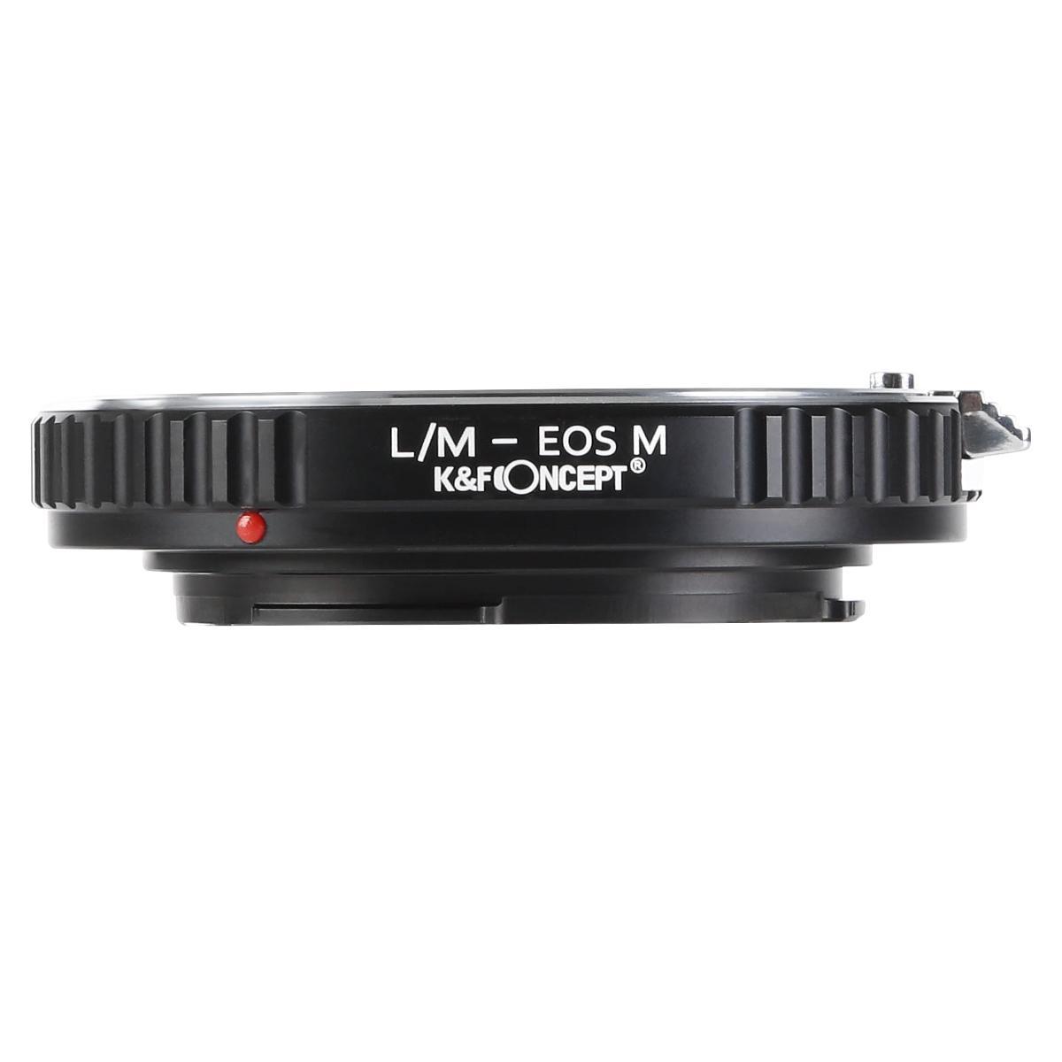 K&F M20141 Lentes Leica M para adaptador de montagem de lente Canon EOS M