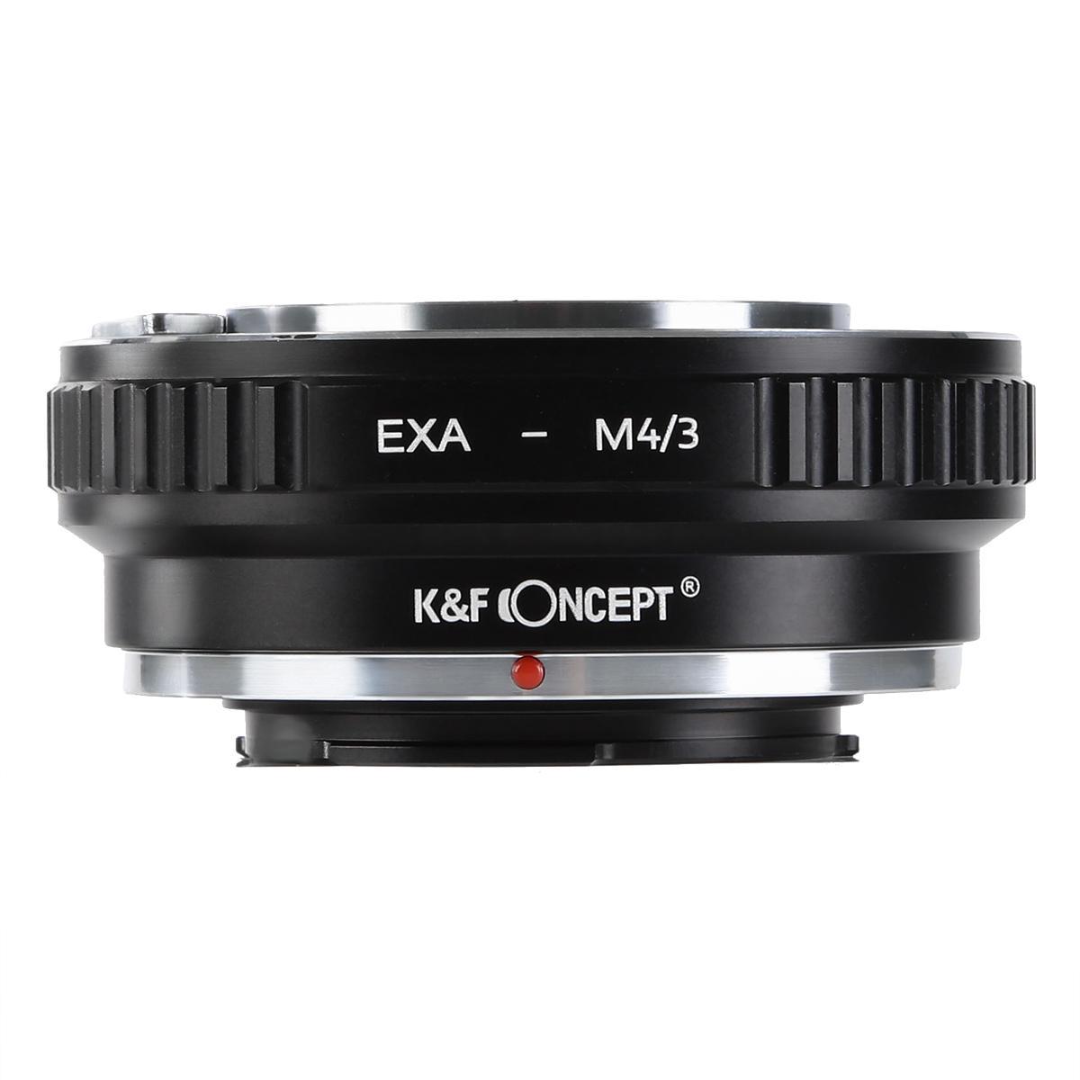 K&F M29121 Lentes Exakta para M43 Adaptador de montagem de lente MFT
