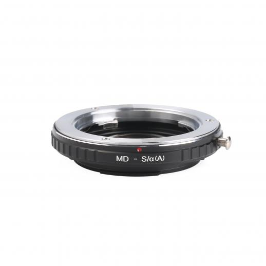 Minolta MD Lenses to Minolta A / Sony A Mount Camera Adapter with Optic Glass