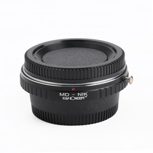 Minolta MD MC Lentes para Nikon Câmera Adaptador