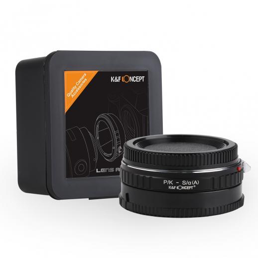 Adapter Obiektyw Pentax K do Korpusów Sony A