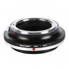 Nikon F Lenses to Fuji GFX Mount Camera Adapter
