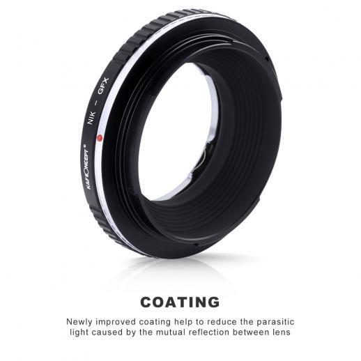 Adapter Obiektyw Nikon F do Korpusów Fuji GFX