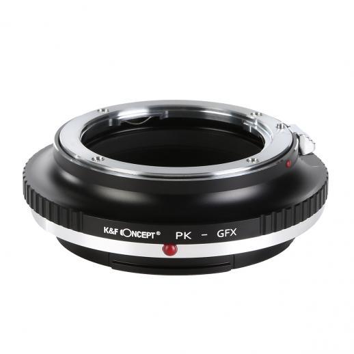 Pentax K Lentes para Fuji GFX Câmera Adaptador