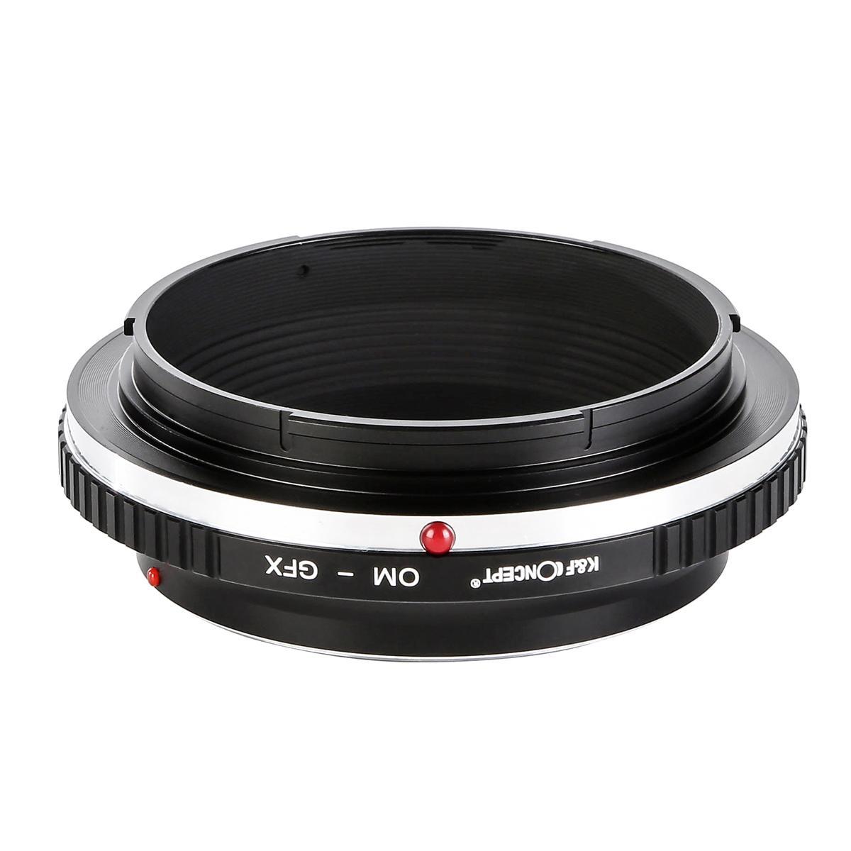 Olympus OM Lentes para Fuji GFX Câmera Adaptador