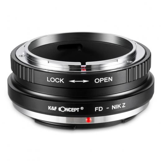 K&F M13184 Lentes Canon FD para adaptador de montagem de lente Nikon Z