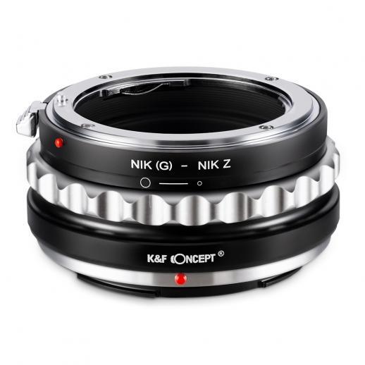 K&F M18184 Nikon G Lens to Nikon Z Adaptador de montagem de lente