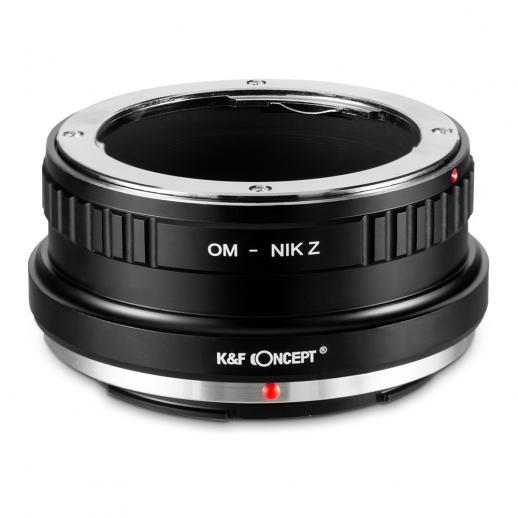 K&F M16184 Olympus OM Adaptador de Montagem de Lente Nikon Z