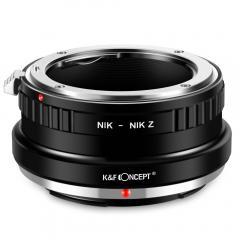K&F M11184 Bague Adaptation Objectif Nikon F vers Nikon Z Mount Appareil Photo