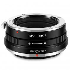 Adapter für Sony A Objektiv auf Nikon Z Mount Kamera