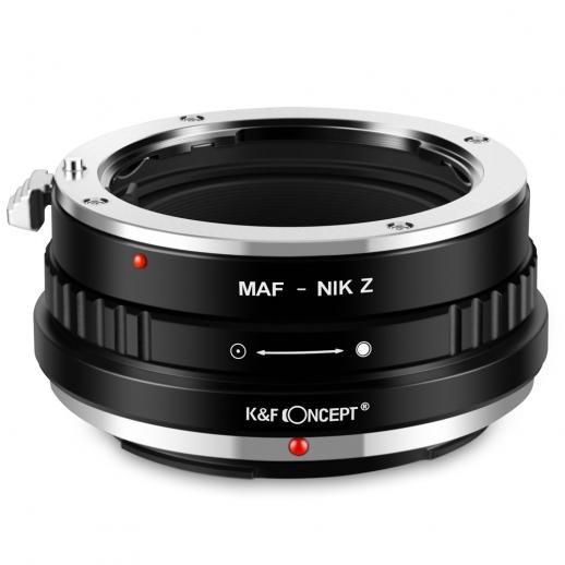 Minolta A / Sony A Lentes para Nikon Z Câmera Adaptador