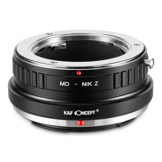 Minolta MD Lentes para Nikon Z Câmera Adaptador