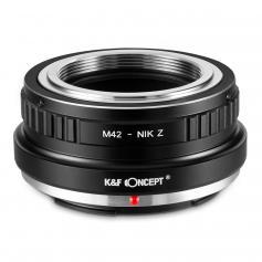 Adapter für M42 Objektiv auf Nikon Z Mount Kamera