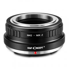 K&F M10184 Bague Adaptation Objectif M42 vers Nikon Z Mount Appareil Photo