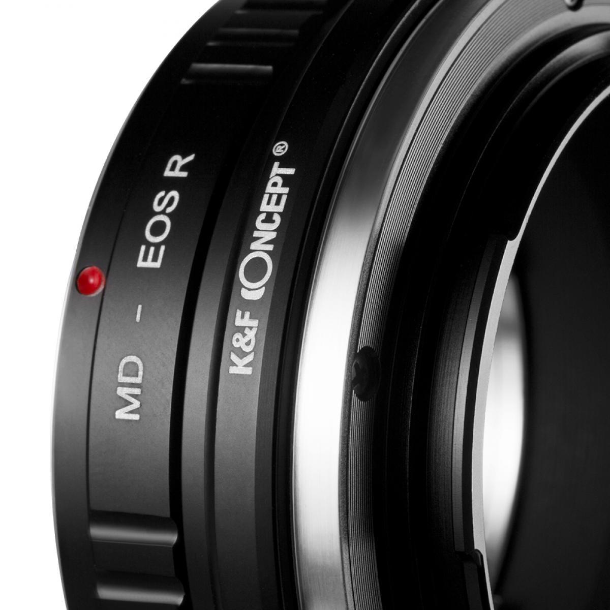 Adaptador Lentes Minolta MD para corpo Canon EOS R