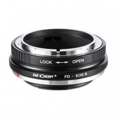 Adapter für Canon FD Objektiv auf Canon EOS R Mount Kamera