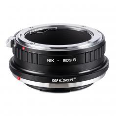 Nikon F Lenses to Canon EOS R Mount Camera Adapter