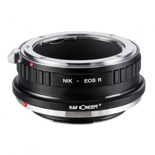 K&F M11194 Bague Adaptation Objectif Nikon F vers Canon EOS R Mount Appareil Photo