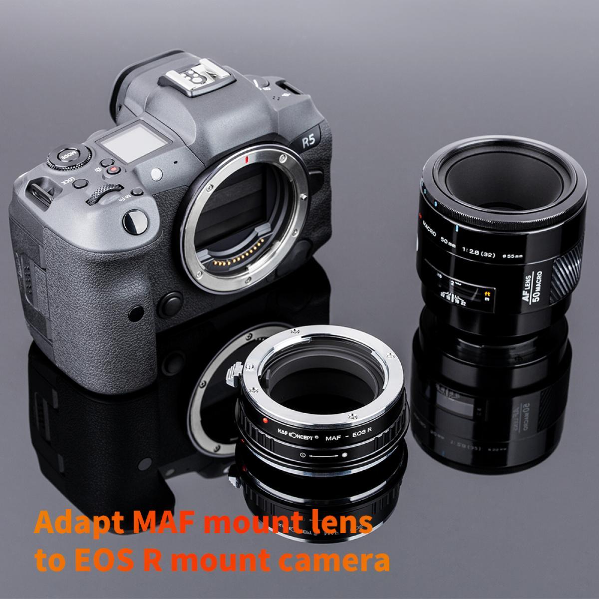 Adapter für Sony A Objektiv auf Canon EOS R Mount Kamera