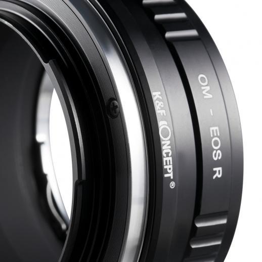 Adattatore per Obiettivi Olympus OM a Fotocamere Canon EOS R