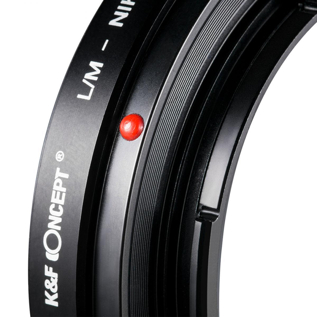 Adaptador Lentes Leica M para corpo Nikon Z