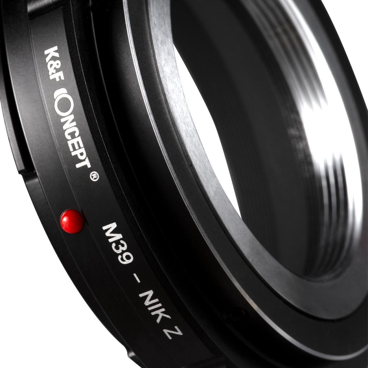 Adaptador Lentes M39 para corpo Nikon Z