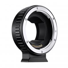 Fully Automatic Focusing Electronic Adapter Ring, EOS-E, with Mounting Bracket