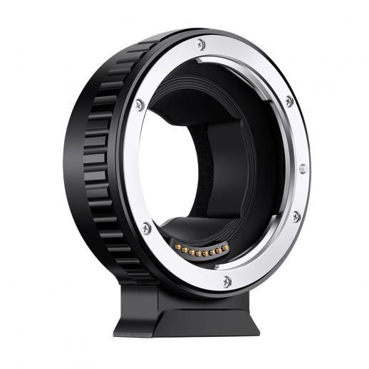 W pełni automatyczna regulacja ostrości Pierścień adaptacyjny Elektroniczny EOS-E, z uchwytem montażowym