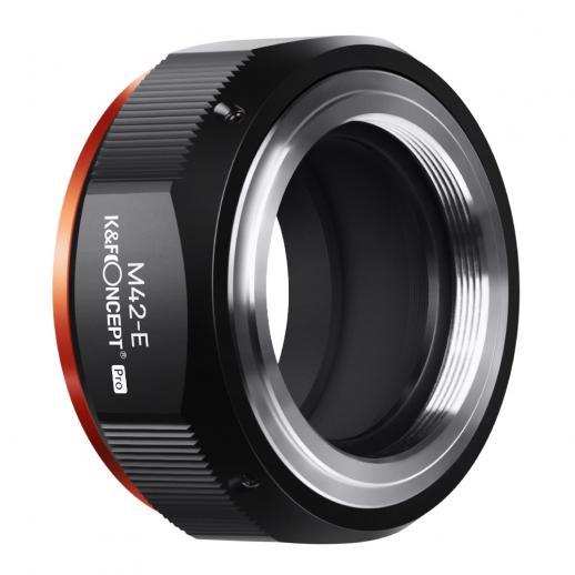 Nuevo producto: K&F M10115 M42-NEX PRO, nuevo en 2020 adaptador de lente de alta precisión (naranja)