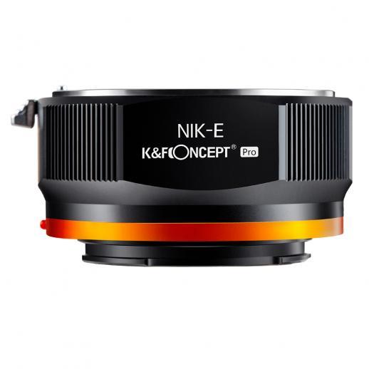Nuovo prodotto: K&F M11105 NIK-NEX PRO , Nuovo adattatore per obiettivi ad alta precisione 2020 (arancione)