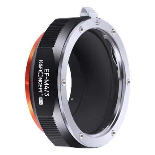 Nowy produkt: K&F M12125 Canon EOS-M4 / 3 PRO, nowy w 2020 roku precyzyjny adapter do obiektywu (pomarańczowy)